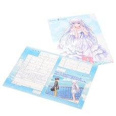 Key 20th Anniversary Summer Pockets Marriage Registration w/ Clear Poster