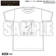 Bushiroad x Yoshitaka Amano Artworks Monochrome Illustration T-Shirt 01
