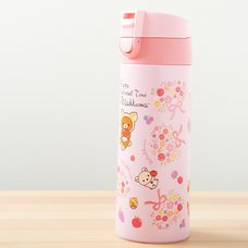 Rilakkuma Stainless Steel Tumbler (Happy Natural Time)