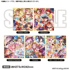 BanG Dream! Girls Band Party! Shikishi Board Collection