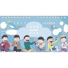 Osomatsu-san 2019 Desktop Calendar