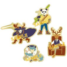 Beastars Yuru Palette Pins Collection