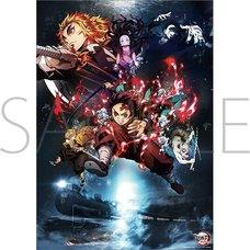 Demon Slayer: Kimetsu no Yaiba the Movie: Infinity Train Mini Clear Poster B