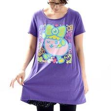 Mameshi Pamyu Pamyu Wink T-Shirt Dress