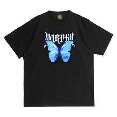 LISTEN FLAVOR 2021 Anniversary Collection Blue Morpho Big T-Shirt