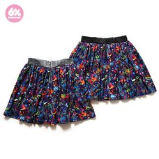 6%DOKIDOKI Neon Spectrum Flared Skirt