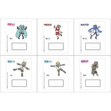Hatsune Miku Creators Party Acrylic Stand Keychain Collection: takadabear Ver.
