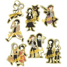 Bungo Stray Dogs Yuru Palette Ver. Pin Badge Collection
