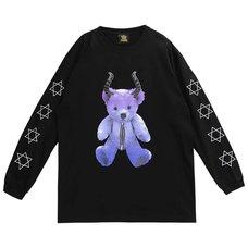 LISTEN FLAVOR Devil Bear Long Sleeve T-Shirt