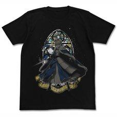 Fate/Grand Order Altria Pendragon Black T-Shirt