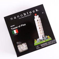 Nanoblock Tower of Pisa