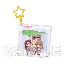 Love Live! Sunshine!! Aqours Riko & Hanamaru & Mari Vol. 9 Acrylic Keychain