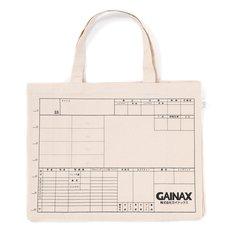 "Gainax ""Cut Bag"" Tote Bag"