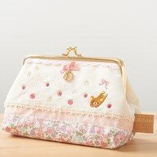 Rilakkuma Pink Cotton Life Pouch