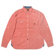 Super Mario Bros. Chambray Shirt (Red)