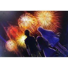 ReflectionArt Lite  No. 19: Summer Pockets: Reflection Blue Fireworks