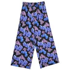 LISTEN FLAVOR Angel's Rose Garden Wide Pants