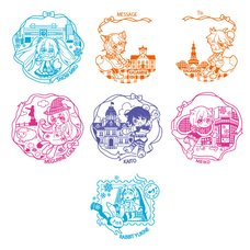 Snow Miku Capsule Stamp Collection