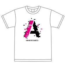 Aria on the Planetes 2021 Logo White Tee