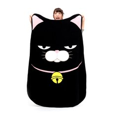 Hige Manjyu Diecut Cat Blankets