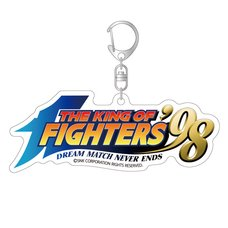 The King of Fighters '98 Title Logo Acrylic Keychain