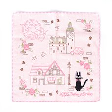 Kiki's Delivery Service Jiji Pink Avenue Mini Towel