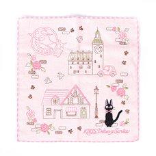 Kiki's Delivery Service Jiji Pink Avenue Mini Towel