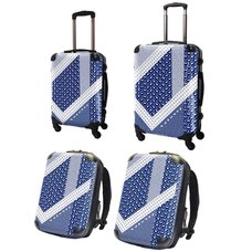 Tetris Art Suitcase & Rucksack Collection: Modern Japanese Pattern Vol. 1