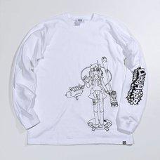 PARK Urahara Rito Line Drawing Long Sleeve T-Shirt