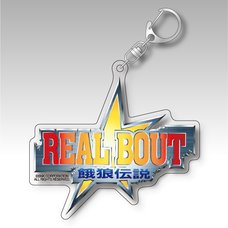Real Bout Fatal Fury Title Logo Acrylic Keychain