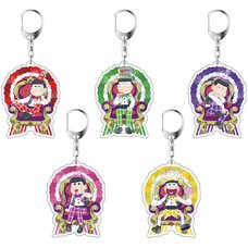 Osomatsu-san Birthday Ver. Acrylic Keychain Charm Collection