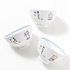 Hitokoto Animal Bowls (Cat)