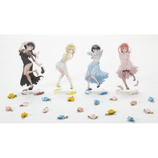 Rent-A-Girlfriend Party Dress to Kanojo Acrylic Stand Figure Collection