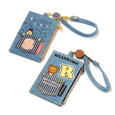 Denim Series Reel Pass Case | Rilakkuma/Sumikko Gurashi