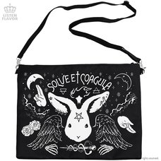 LISTEN FLAVOR Secret Ritual 2-Way Clutch Bag