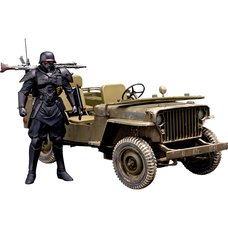 PLAMAX MF-35: Minimum Factory Protect Gear w/ Special Investigations Unit Patrol Vehicle