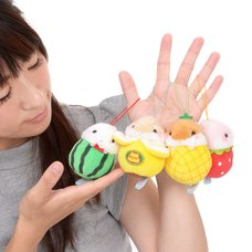 Coroham Coron Fruits Hamster Plush Collection (Mini Strap)
