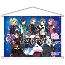 Love Live! Sunshine!! Aqours B2-Size Tapestry Vol. 3