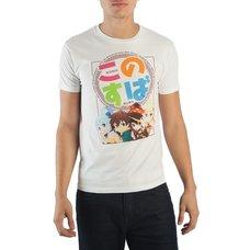 KonoSuba Group Men's Crew Neck T-Shirt