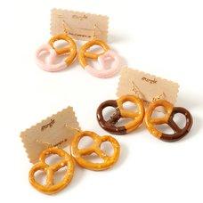 gargle Pretzel Earrings