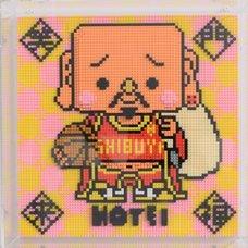 Nanoblock Shibuya Pixel Art Artist Works: Shinichiro Kitai Relief