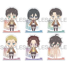 Attack on Titan x Pas Chara Acrylic Stand Collection