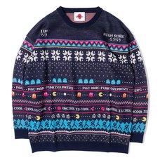 [PDS x Pac-Man] Master Navy Sweater