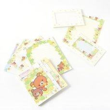 Rilakkuma Korilakkuma to Atarashii Otomodachi Letter Sets