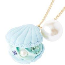 Q-pot. Shell Macaron Necklace