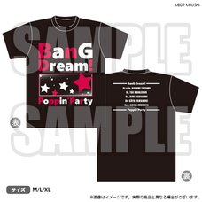 BanG Dream! Girls Band Party! T-Shirt: AX 2019 Ver.