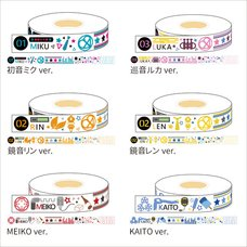 Hatsune Miku Summer Festival Masking Tape: Multicolor Ver.