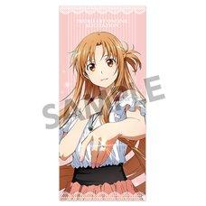 Sword Art Online: Alicization Asuna Yuuki: Casual Wear Ver. Microfiber Towel