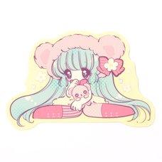 Honey Kuma-chan Sticker