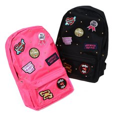 FLAPPER Band Girl Patch Backpack